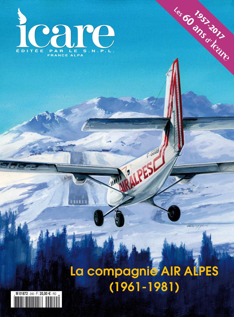 Icare n°240 – 60 ans d'histoire aéronautique, déjà !