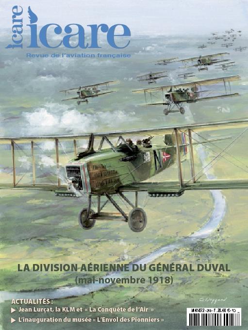 Icare n°248 – La Division Aérienne du Général Duval (mai-novembre 1918)