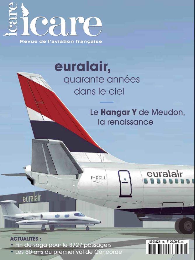 Icare n°249 – euralair, quarante années dans le ciel