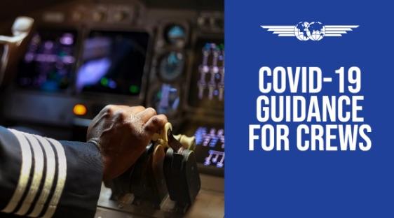 Safety Bulletin IFALPA: COVID-19 Guidance for Crews