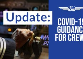 Safety Bulletin IFALPA: COVID-19 Guidance for Crews (update)