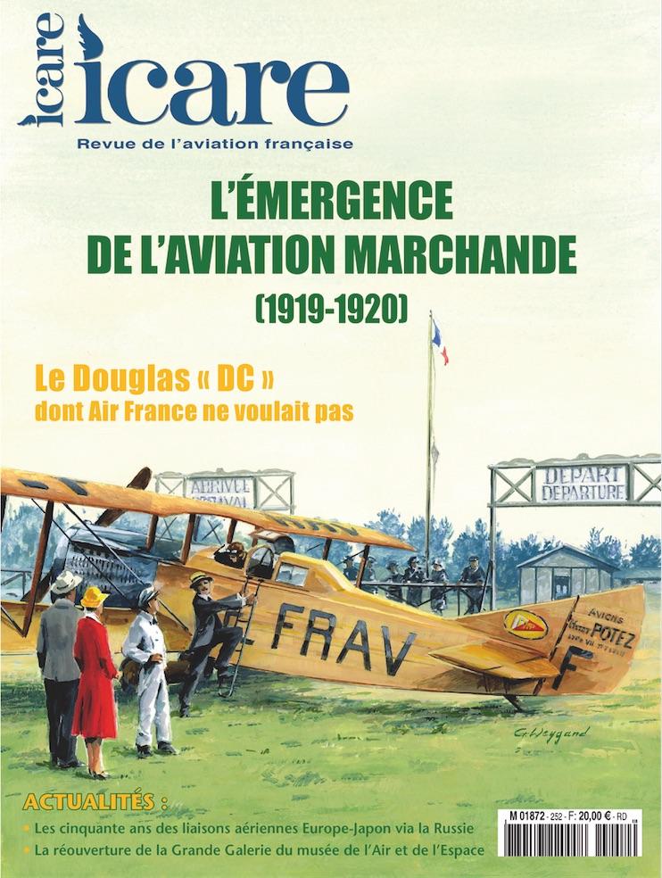 ICARE n°252 - L'émergence de l'aviation marchande (1919-1920)