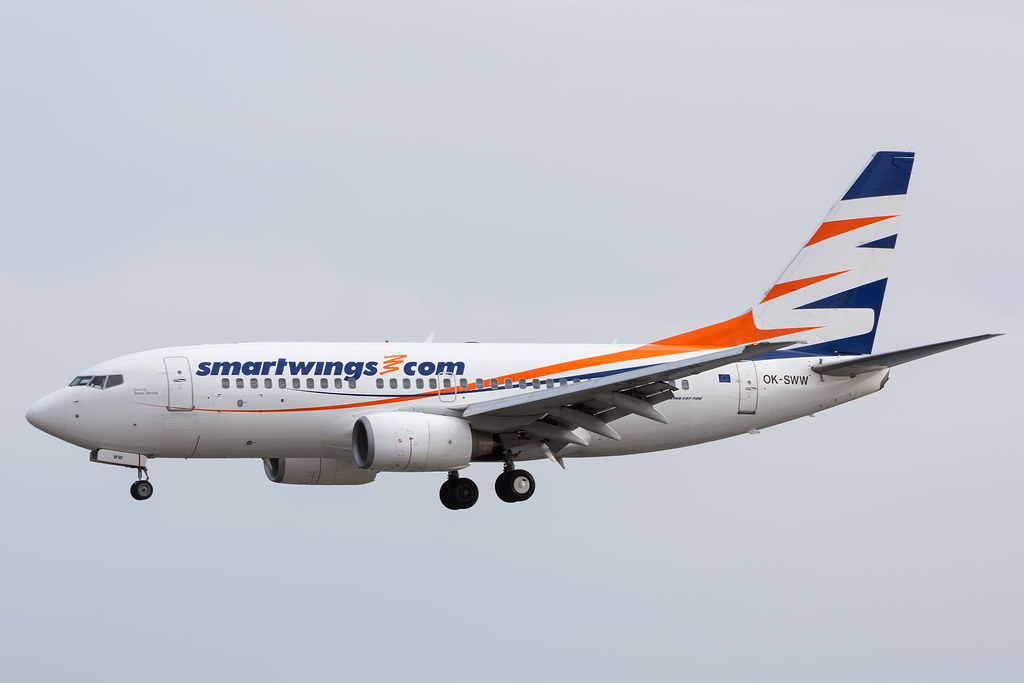 smartwings avion