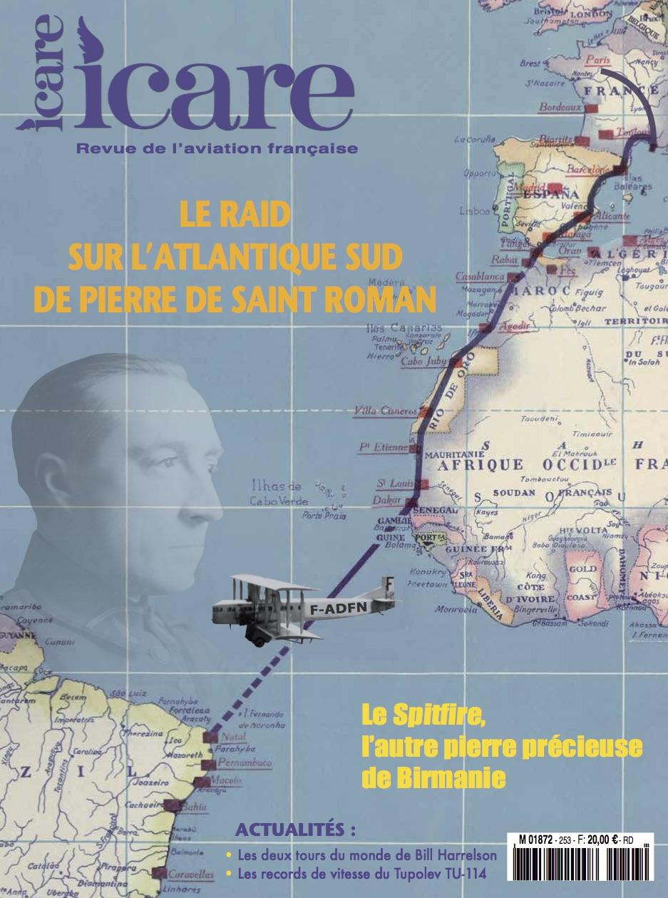 ICARE n°253 - Le raid sur l'Atlantique Sud de Pierre de St Roman