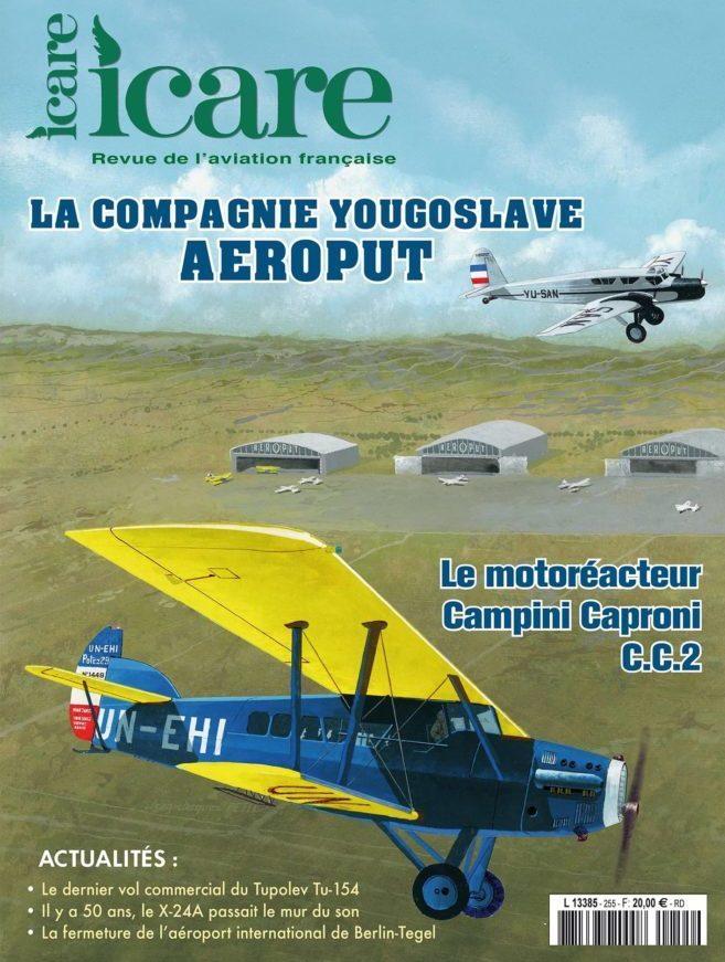 ICARE n°255 - La compagnie yougoslave Aeroput
