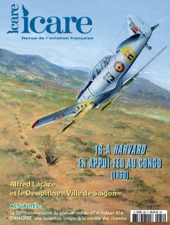 Icare n°258 – T6-A Harvard en appui-feu au Congo belge